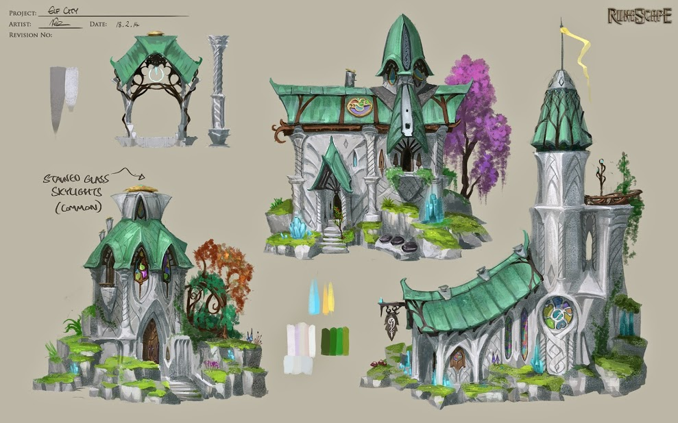 RS-Elf-City The long-awaited Runescape elf city has come to start