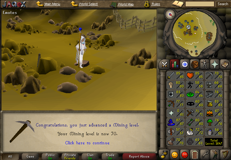 Runescape-Mining Have you got in trouble with runescape mining RS Gold