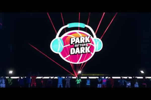 11193 The Park After Dark Of NBA 2K17: Play Glow Basketball
