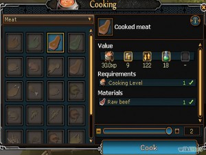 Set up a Meat Stall in RuneScape